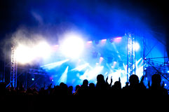 Outdoor concert Royalty Free Stock Photos