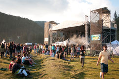Outdoor concert Stock Images