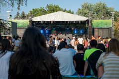 Outdoor concert Royalty Free Stock Image