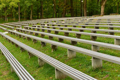 Outdoor concert seating Royalty Free Stock Images