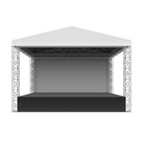 Outdoor concert stage Royalty Free Stock Photo