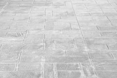 Outdoor concrete block floor background Stock Images