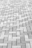 Outdoor concrete block floor background Royalty Free Stock Image