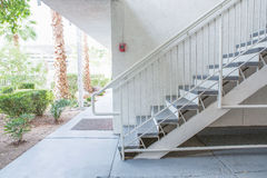 Outdoor Concrete Staircase Royalty Free Stock Image