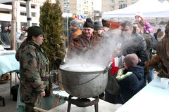 Outdoor Cooking Championship Royalty Free Stock Photos