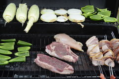 Outdoor cooking Royalty Free Stock Image