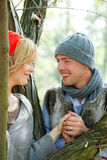 Outdoor couple Royalty Free Stock Photos