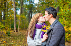 Outdoor couple Royalty Free Stock Photography