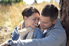 Outdoor Couple Royalty Free Stock Images