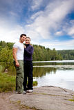 Outdoor Couple Portrait royalty free stock photo