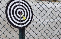 Outdoor darts close-up! Royalty Free Stock Image