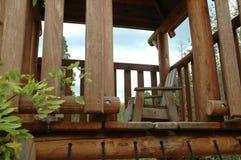 Outdoor Deck. Patio Deck Stock Photography
