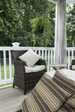 Outdoor Decor - Seating Area Royalty Free Stock Images