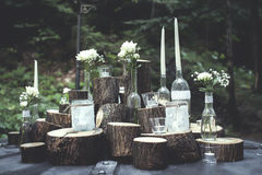 Outdoor decorations royalty free stock photography