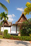 Outdoor design house in thailand Stock Photography