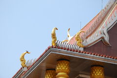 Outdoor design temple in thailand Royalty Free Stock Photo