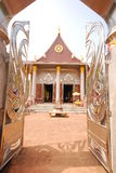 Outdoor design temple in thailand Royalty Free Stock Photography