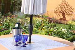 Outdoor dining Stock Image
