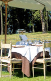 Outdoor dining Stock Photos