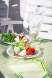 Outdoor dining Royalty Free Stock Images