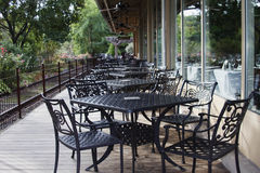 Outdoor Dining Beckons Stock Photography