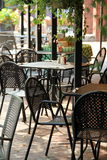 Outdoor dining Stock Images