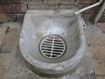 Outdoor Drain by Kambas Royalty Free Stock Images