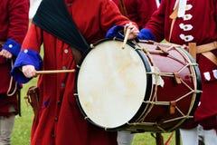 Outdoor drum in recreation Stock Images