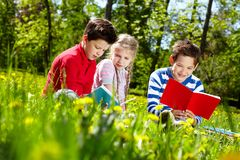 Outdoor education Stock Photography