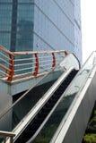 Outdoor escalator Stock Images