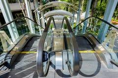 Outdoor escalator Royalty Free Stock Photo