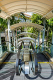 Outdoor escalator Stock Image