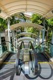 Outdoor escalator Stock Image