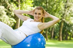 Outdoor exercise Royalty Free Stock Image