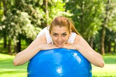 Outdoor exercise Royalty Free Stock Photo