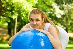 Outdoor exercise Stock Photo