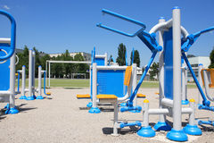 Outdoor Exercise Equipment Royalty Free Stock Photography