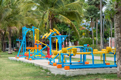 Outdoor Exercise Equipment Royalty Free Stock Photo