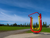 Outdoor Exercise Machine Royalty Free Stock Images