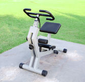 Outdoor exercise machine Stock Photography
