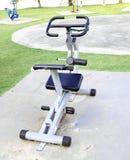 Outdoor exercise machine Stock Photo