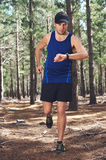 Outdoor exercise watch Royalty Free Stock Photo