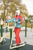 Outdoor Exercises Stock Image