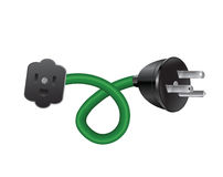 Outdoor Extension Cord Stock Images