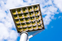 Outdoor faceted illumination reflector Stock Images