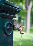 Outdoor faucet Stock Image