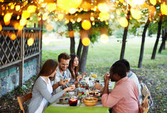 Outdoor feast Royalty Free Stock Photography