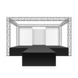Outdoor festival stage, podium Stock Images