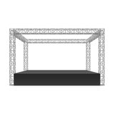 Outdoor festival stage Royalty Free Stock Images