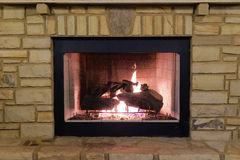 Free Outdoor Fireplace Stock Photo - 41852050